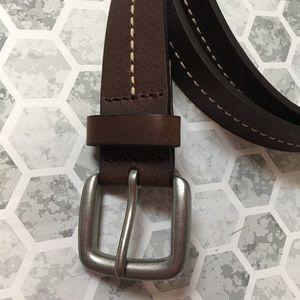 BANANA REPUBLIC leather belt size 36